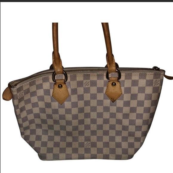 54960e3281cc33 Louis Vuitton Bags | Authentic Lv Saleya Damier Azur Pm Purse | Poshmark